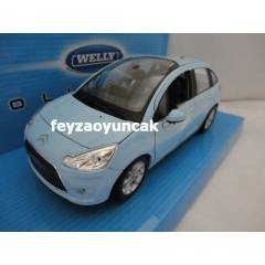 WELLY 2010 CITROEN C3  1:24 �L�EK