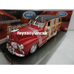 WELLY 1948 CHEVROLET FLEETMASTER 1:24 �L�EK