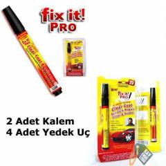 (2 Adet) Fix it Pro Oto �izik Kalemi +4 Ad U�