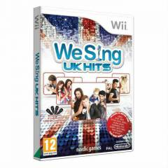 WeSing UK Hits We Sing Nintendo Wii Karaoke