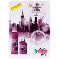 Caldion City For Women 100ml EDT + 150 ml Deodo