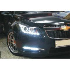 Chevrolet Cruze DRL led ledli sis far� TECCOdan