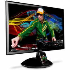 "AOC 23"" E2343Fi 2Ms Analog +HDMILED Lcd Monit�r"