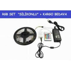 10MT  RGB SET S�L�KONLU �ER�T LED+ADAPT�R+KUMNDA