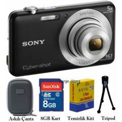 Sony W710 16MP HD 5X Dijital Foto�raf Makinas�