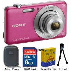 Sony W710 16MP HD 5X Dijital Foto�raf Makinesi