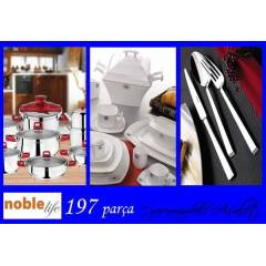 NOBLE LIFE �EY�Z SET�-3 PUNTO PARLAK