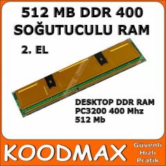 512 MB DDR 400 RAM PC3200 So�utuculu 2. EL