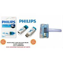 PH�L�PS EJECT 16GB USB FLASH BELLEK GF