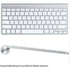 Apple MC184TU/B  Kablosuz Bluetooth Klavye