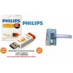 PH�L�PS EJECT 32 GB USB FLASH BELLEK GF