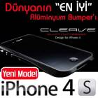 iPhone 4/4S DEFF CLEAVE (Japan) AL�M�NYUM BUMPER