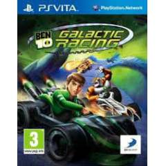 BEN10 GALACTIC RACING PS VITA OYUN