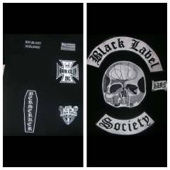 BLACK LABEL SOC�ETY PATCH SET