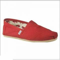TOMS CLAS. RED CANVAS E.K AYAKKABI 1001A07