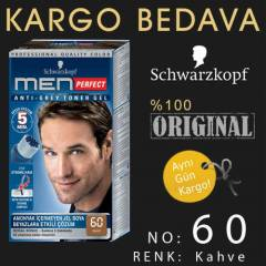 SCHWARZKOPF MEN PERFECT |  60  KAHVE  JEL BOYA