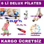6 L� P�LATES PLATES SET� BANT 65 VE 20 CM TOP CD