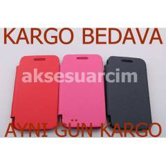 Samsung Galaxy Ace K�l�f Flip Cover