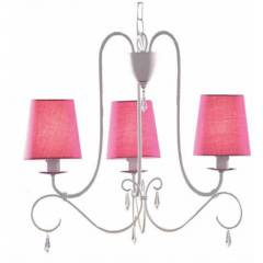 Philips 41594/28/10 PRINCESS chandelier fuchsia