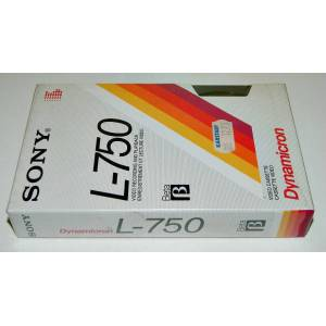 SONY L 750 BO� BETA VIDEO KASET - A�ILMAMI�