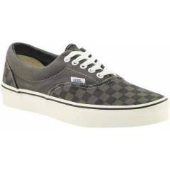 Vans Ayakkab� - Era Washed Checker Charcoal