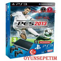 Sony Playstation 3 500 gb +2.KOL+ PES 2013 OYUNU