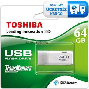 Toshiba 64 GB Hayabusa USB Bellek - Flash Disk