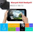 Piranha Aristo Tab 7'' Tablet PC Klavye Hediye