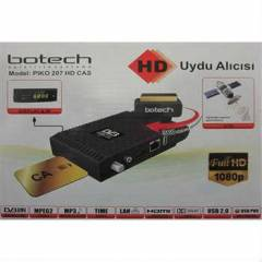BOTECH PIKO 207 HD CAS UYDU ALICISI FULL HD