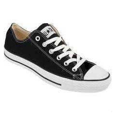 M9166-CONVERSE ALL STAR BLACK OX UNISEX AYAKKABI