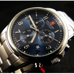 SWISS MILITARY 06.5142.04.003 CHRONO+TAR�H+10ATM