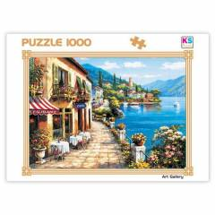 KS Games 1000 par�a Puzzle Overlook Cafe