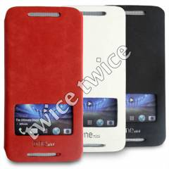 HTC ONE M�N� KILIF PENCEREL� EASY DERI
