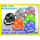 USB VANT�LAT�R USB FAN USB SO�UTUCU 6 RENK