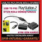 PLAYSTAT�ON 2 OYUN KOLU USB OYUN KOLUNA �EV�R�C�