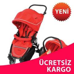 Kraft Click Travel Sistem Bebek Puset - RED