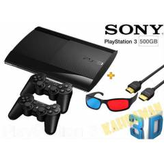 PS3 500 GB 3D S�per Slim 2 kol