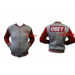 OBEY  GR�  KOLEJ MONT, COLLEGE JACKET