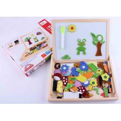 Animal Magnetic Puzzle Dual Board Set
