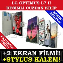 LG OPTIMUS L7 II KILIF P710 RES�ML� DER� C�ZDAN
