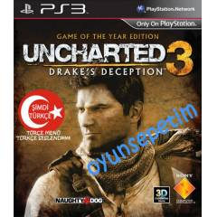 UNCHARTED 3 GAME OF THE YEAR EDITION T�RK�E