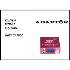 D�VME SET� TATTOO SET� PROFESYONEL ADAPT�R