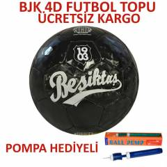 BE��KTA� 4D FUTBOL TOPU NO5