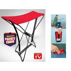 Katlanabilir Portatif Tabure Pocket Chair