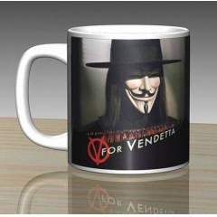 iF Clock V For Vendetta Seramik Kupa Mug