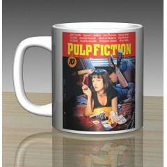 iF Clock Pulp Fiction Seramik Kupa Mug