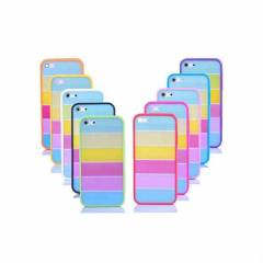 iPhone 5C G�kku�a�� Rainbow Lims K�l�f