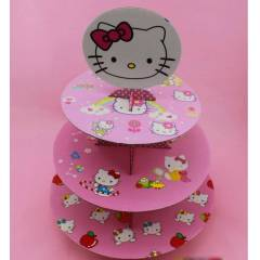 Hello Kitty Cupcake Stand�