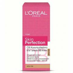Loreal Sk�n Perfect�on BB Krem Orta Ton 50 ML