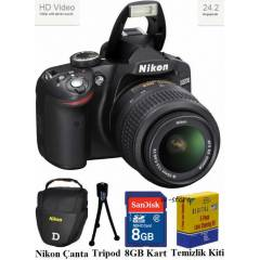 Nikon D3200 18-55mm VR 24MP Foto�raf Makinas�